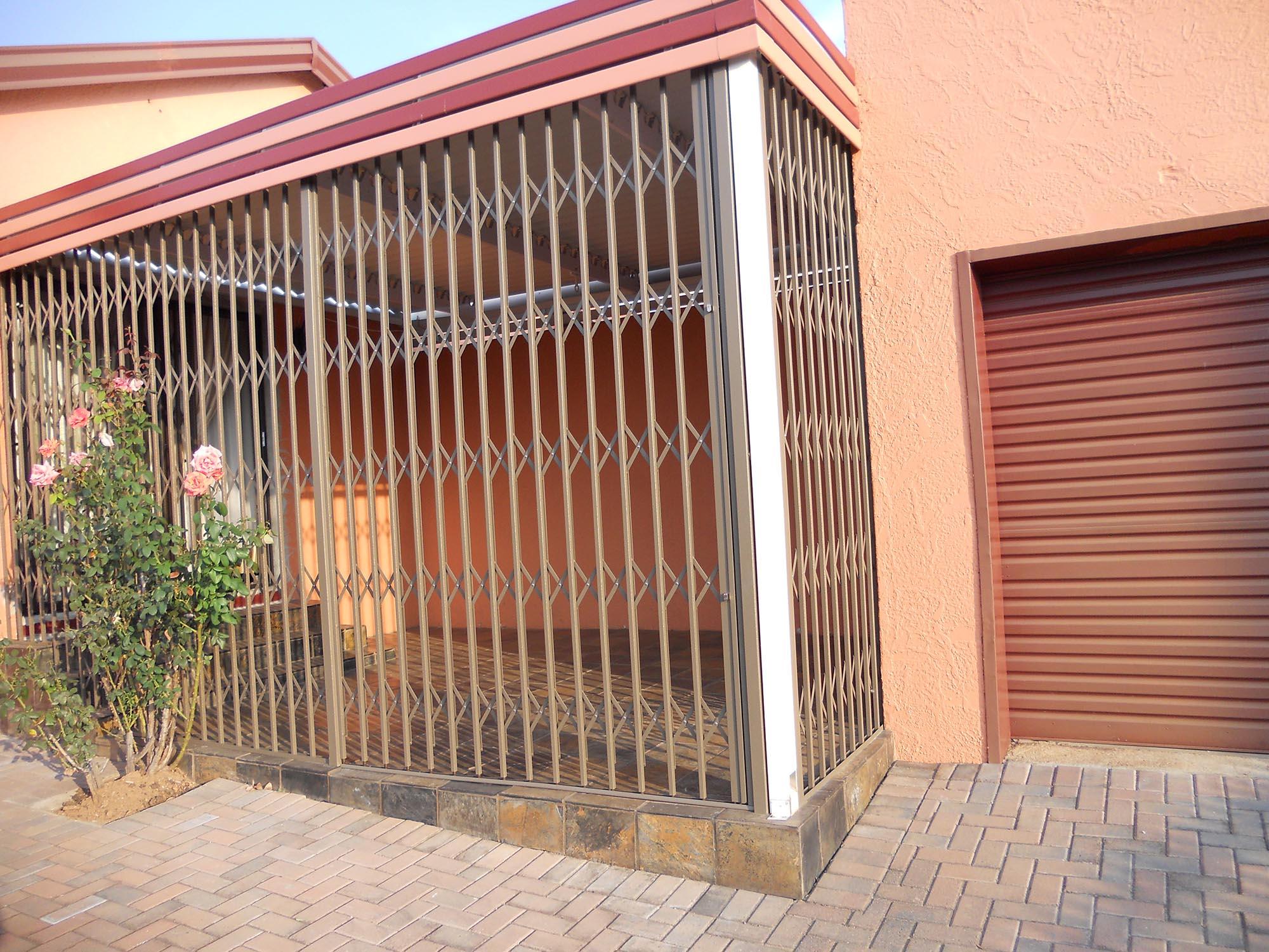 Expandable security doors delarey welding