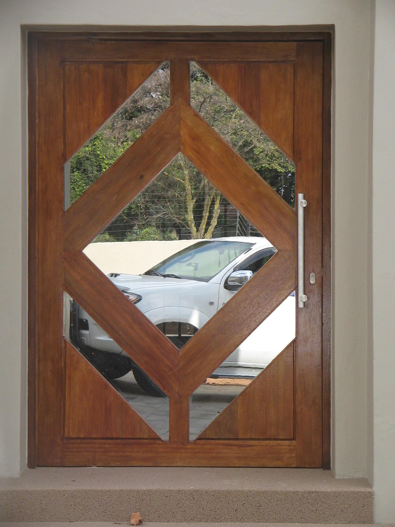Wooden Doors Delarey Welding
