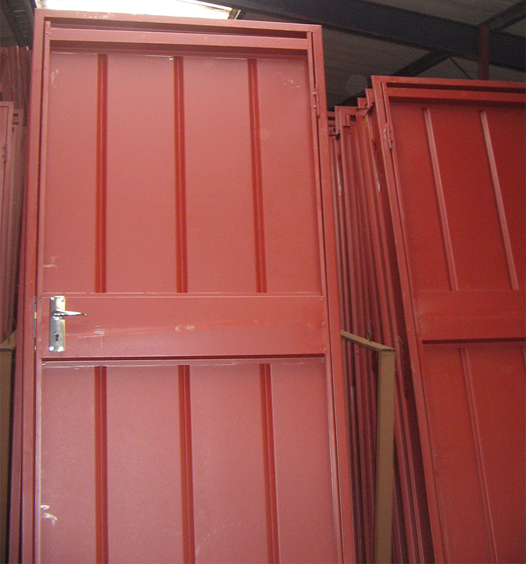 Steel Combination Doors Delarey Welding