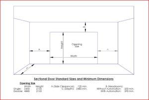 Sectional Door Dimensions